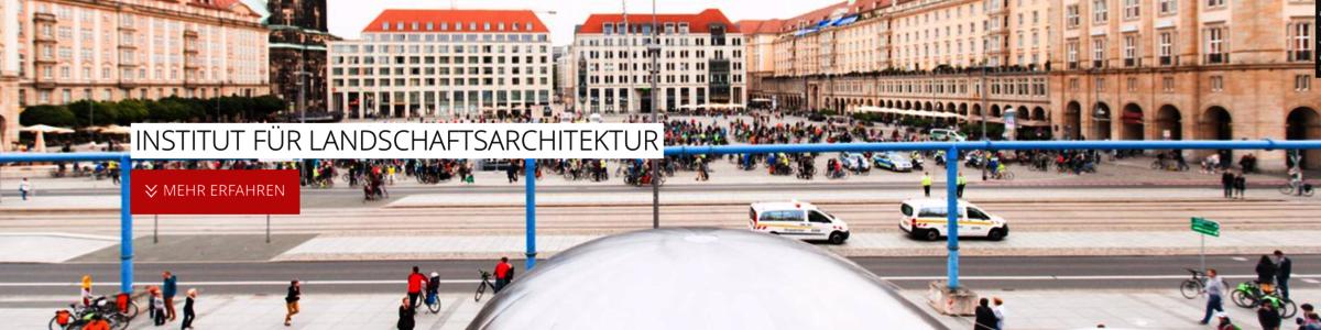 TU Dresden, Fakultät für Landschaftsarchitektur cover